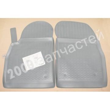 коврики chevrolet cruze с 2006... передние 2шт резина серые