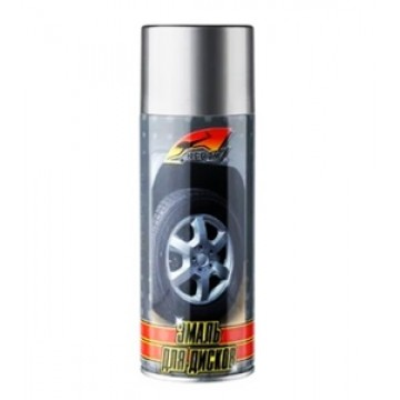 """краска для дисков серебро KERRY"""" (520мл)"""""""