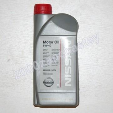 масло моторное Nissan 5w40 1л