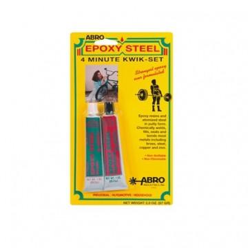 холодная сварка abro epoxy steel