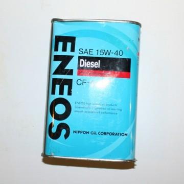 масло моторное ENEOS 15w40 Cf-4 TURBO 4л