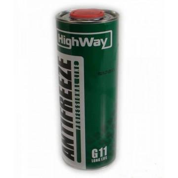 антифриз High Way G11 зеленый 1кг