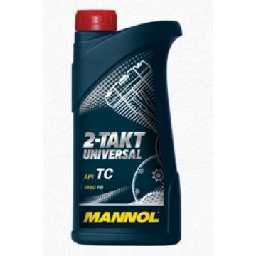 масло мото 2т Mannol 1л мин. универсал