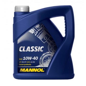 масло моторное Mannol Classik 10W40 4л
