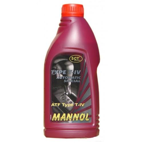Жидкость для АКПП Mannol T-IV АКПП тойота