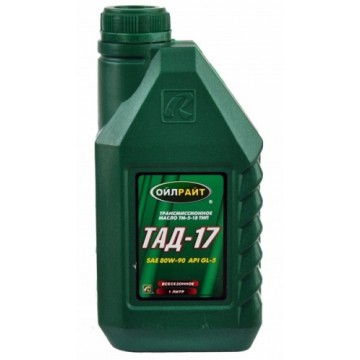 масло трансмиссионное ТАД-17 Oilright 1л