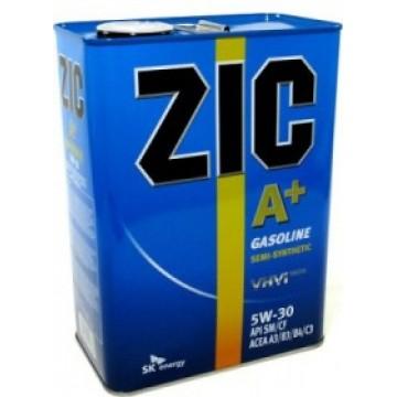 масло моторное ZIC A+ 10w30 4л п/с