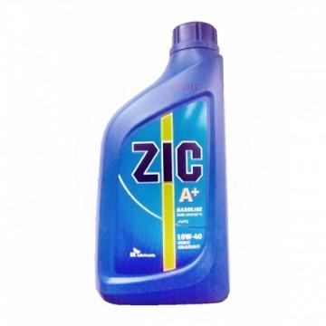 масло моторное ZIC A+ 10w40 полусинтетика 1л