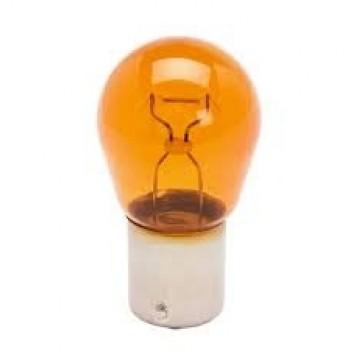 лампа 12v ba15s py21w желтая fiat