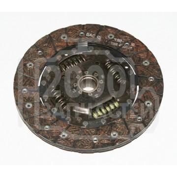 диск сцепления vag octavia 1.4 00-10 golf IV 1.4 75л.с sachs   200мм