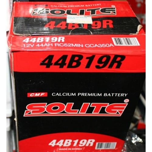 аккумулятор 44Ач п/п Solite корея matiz азия тонк.клеммы