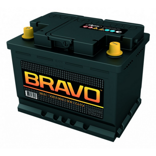 аккумулятор 55Ач о/п bravo