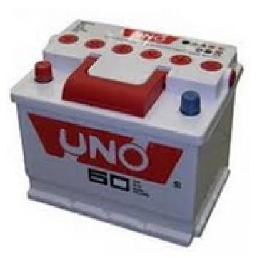 аккумулятор 60Ач п/п uno 2г.