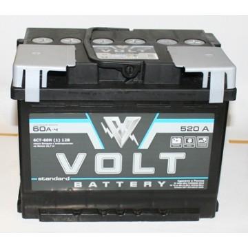 аккумулятор 60ач п/п volt st