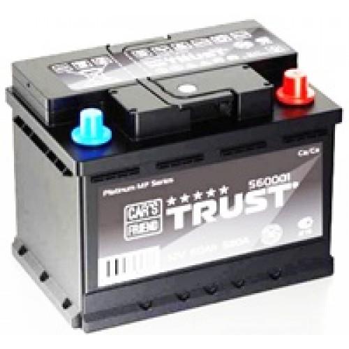 аккумулятор 60Ач о/п trust 580а