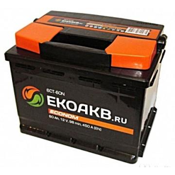 аккумулятор 60ач п/п ЕкоАКБ