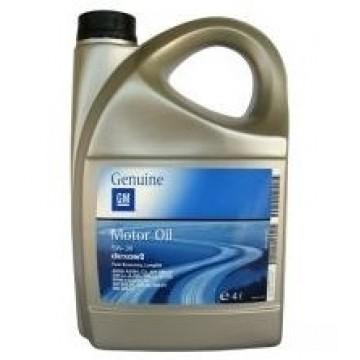 масло моторное GM Dexos2 5w30 4л