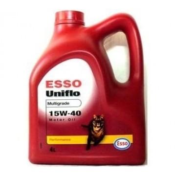 масло моторное Esso Uniflo 15w40 4л