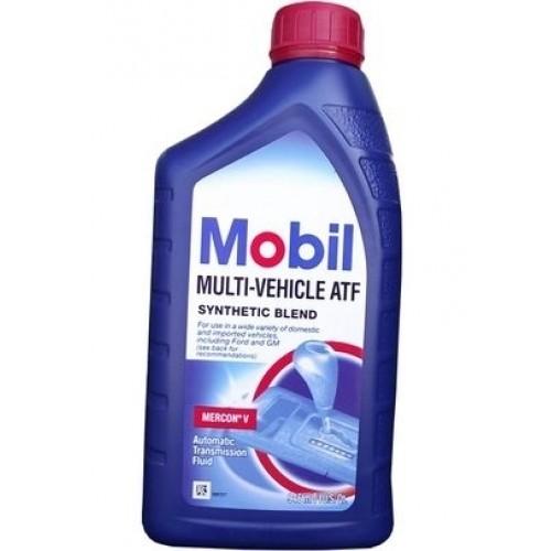 Жидкость для АКПП Mobil multi-venicle 0.946л