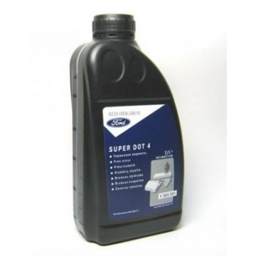Тормозная жидкость Ford Super Dot-4 1л