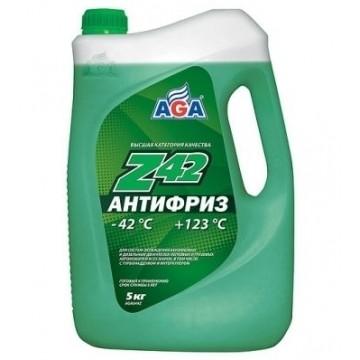 Антифриз AGA-42 049Z 5л зеленый
