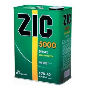масло моторное ZIC 5000 10w40 6л дизель