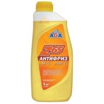 Антифриз AGA-65 042Z 1л желтый