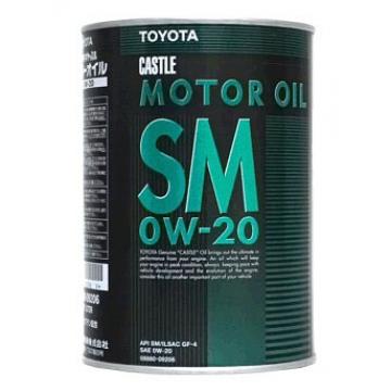масло моторное Toyota 0w20 1л