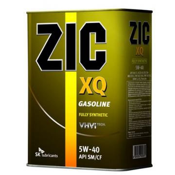 масло моторное ZIC XQ 5w40 4л