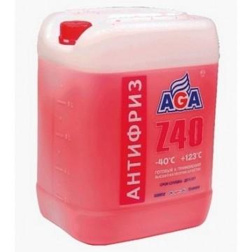 Антифриз AGA-40 002Z 10л красный