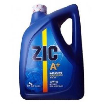 масло моторное ZIC A+ 10w40 полусинтетика 6л