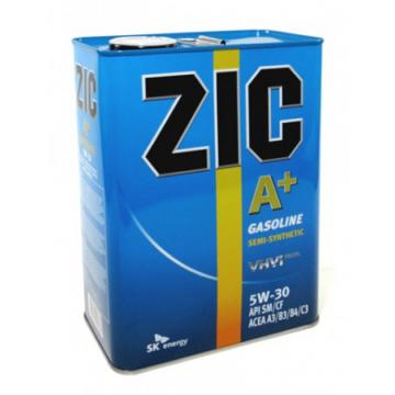 масло моторное ZIC A+ 5W30 п/с 4л