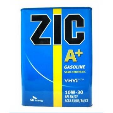 масло моторное ZIC A+ 10W30 п/с 4л