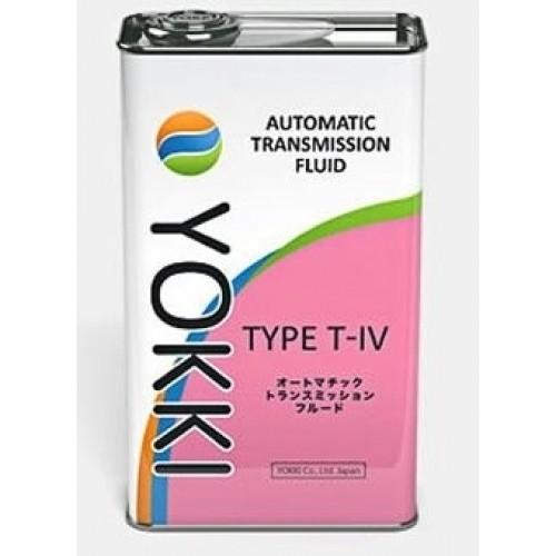 Жидкость для АКПП YOKKI ATF T-IV 4л