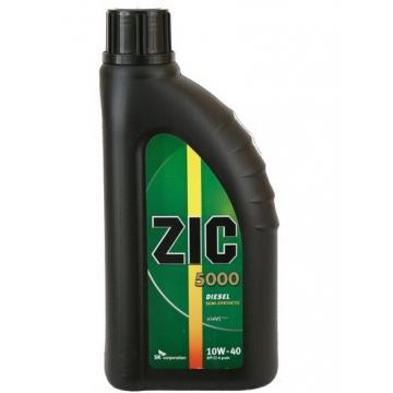 масло моторное ZIC 5000 10w40 1л дизель