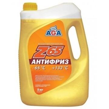 Антифриз AGA-65 042Z 5л желтый