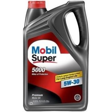 масло моторное Mobil super 5000 5w30 4.83л