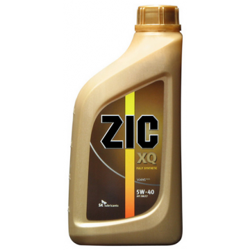 масло моторное ZIC XQ 5w40 1л