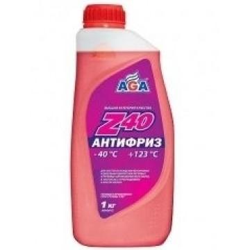 Антифриз AGA-40 001Z 1л красный