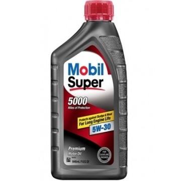 масло моторное Mobil super 5000 5w30 0.946л