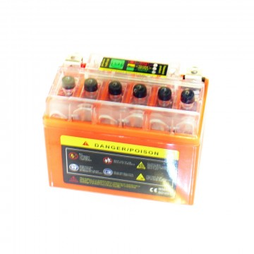 аккумулятор мото 12v 4 а/ч гелевый
