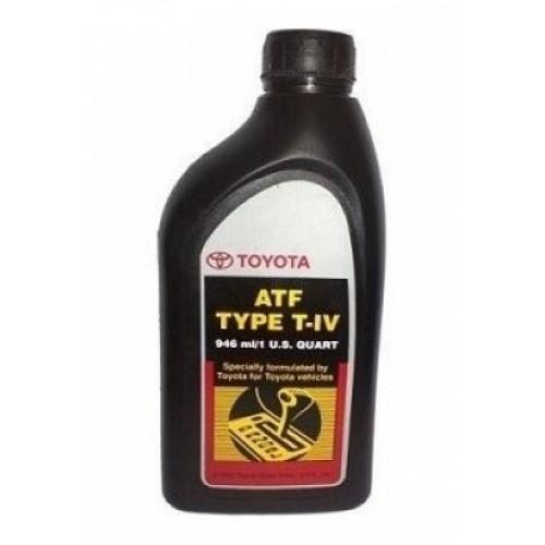Жидкость для АКПП Toyota ATF Type T-IV 0.946л