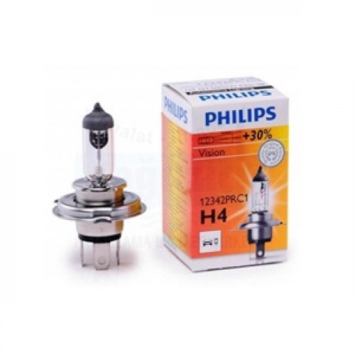 лампа H4 12-60/55 Philips +30% Premium