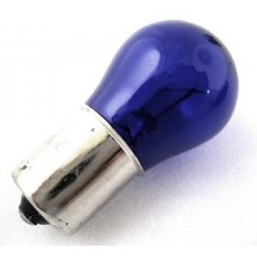 лампа 12-21w 1-конт. ba15s синяя